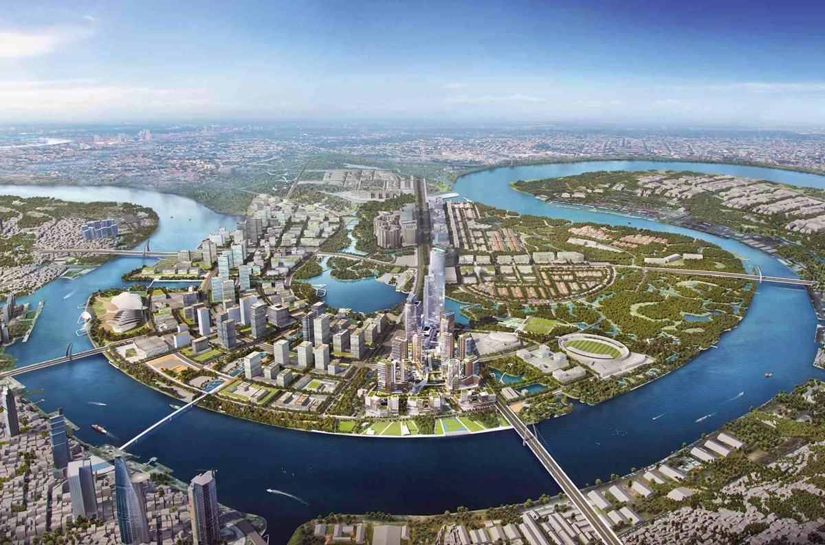 Thu Thiem Financial Center Project - $200 Million USD Required